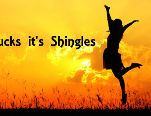 Oh Shucks it's Shingles
